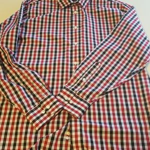 Mens long sleeve button down